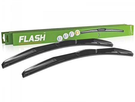 Wycieraczki samochodowe FLASH (hybrydowe) do Chevrolet Lanos 01.2004-