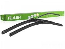 Wycieraczki samochodowe FLASH (płaskie) do Chevrolet Spark 12.2009-